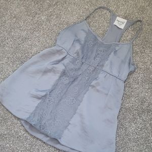 Kirra Gray Lace Tank Top